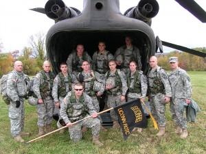 Army ROTC Ranger Challenge Team