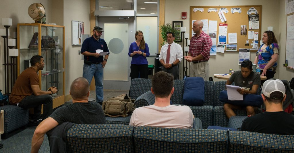 Information Session with Counselors from the VA's Vocational Rehabilitation Program in September 2017